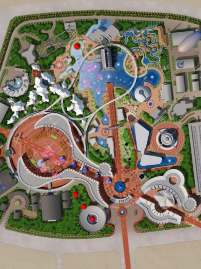 Aviation Theme Park Design