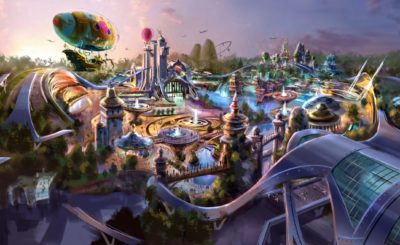 Small City Theme Park Design